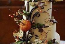 Halloween Themed Wedding Reception / Halloween-Themed Wedding and Reception that includes having guests dress in Halloween costumes