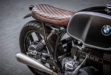 Cafe racer vintage motorcycles