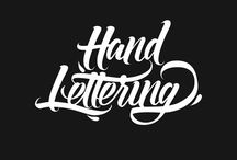 Caligraphy logo lettering typography
