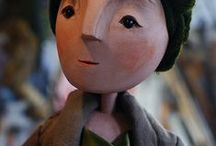 sculture marionette