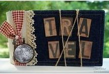 CCB Travel, Destination / Bon Voyage! Travel and location-themed journals, cards, scrapbook layouts, home decor and more from the Canvas Corp Brands Creative Crew. Canvas Corp, 7gypsies, Tattered Angels