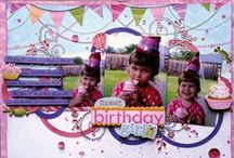 CCB Birthday / Celebrate with cards, invitations, decorations, gifts, wrapping and party ideas from the Canvas Corp Brands Creative Crew. Canvas Corp, 7gypsies, Tattered Angels