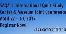 """#SAQALNK / The 2017 SAQA Conference """"Creation to Curation"""" will be held April 27-30 in Lincoln, Nebraska. This is a joint conference with the International Quilt Study Center and Museum. Register now!"""