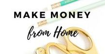 Make Money From Home / Hints, tips and ideas of how to make money from home