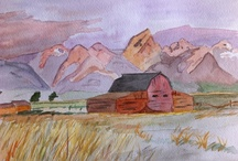 David Locke's Art / Our designer and photographer David Locke is a classically trained artist. Here are a few watercolors