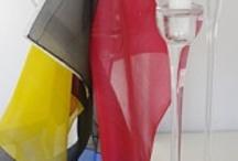 pañuelos de seda / silk scarves  / pañuelos de seda pintados a mano silk scarves hand painted