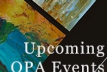 OPA Events / Stay up to date with OPA Events, such as exhibitions, paint outs, online competitions, workshops, demonstrations, calls for entry and more!