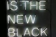 BLACK IS BLACK / Le noir dans tous ses états
