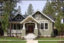 Our House - Exteriors/Plans / Craftsman bungalows, mainly. / by Cheryl Anderson