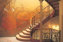 Art Nouveau / Some Art Nouveau inspiration.