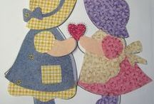 Sunbonnet and Sam