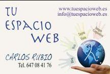 Tu Espacio Web / Trabajos realizados en Tu Espacio Web