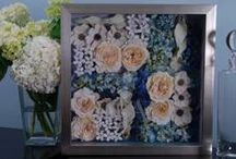 Something Blue / Keepsake Floral would love to preserve your #somethingblue in a custom shadow box! Whether it's your bouquet, boutonnière, garter or invitation we can create a forever keepsake from your special day!!