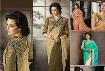 Indian Wedding Sarees or Sari / Daindiashop.com offers Indian wedding sarees collections online just starting at Rs.1304.