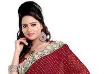 Indian Bridal Saree / Daindiashop.com offers Indian bridal saree collections online just starting at Rs.1304.