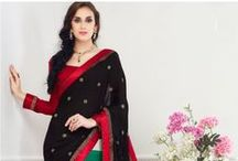 Traditional Sarees / Daindiashop.com offers Indian traditional saree or formal sarees collections online just starting at Rs.1304.