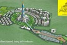 Vrindavan Chandrodaya Mandir / A Grand Temple Township Adjunct to Tallest Krishna Temple in the World.