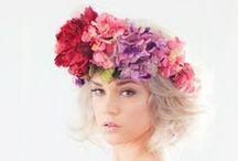 ♥ Couronnes de fleurs ♥ / Rien de plus beau que quelques fleurs dans ses cheveux !
