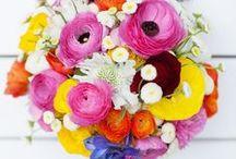 ♥ Bouquets colorés  ♥ / Quelques idées pour vous aider à choisir la couleur de votre bouquet et les fleurs !