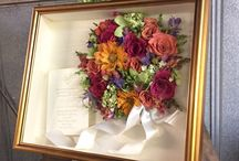 Wedding Invitations / Keepsake Floral, Inc. would love to help you not only preserve your bouquet but showcase your invitation as well!!