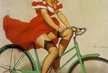 Vintage images: Pin ups, cute & other / by Anne-Marie Steyn