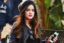 Lucy hale / by Quincy .gee