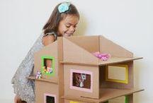 DIY - CARDBOARD / CARTON / DIY - cartons