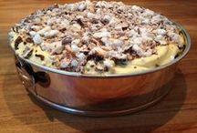 Dessert, lekkernijen, gebak, taart, koeken en chocola / Lekker zelfgemaakte desserts, gebak, koekjes, chocola, taarten en snoepjes