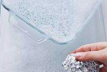 CLEANING TIPS - MENAGE / Trucs et astuces pour tout nettoyer dans la maison