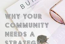 Social Media Tips / A board full of social media tips.