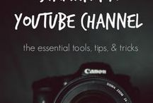Youtube Tips / A board with all the YouTube tips you need.