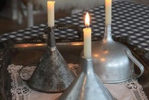 Candles / by HB-LENRUHA Zsóka Vasvári