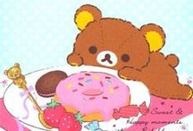 Rilakkuma & Friends / The world's favourite relaxing bear and his other San-X friends!