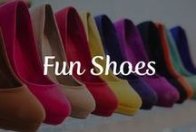 Fun Shoes / Shoes, shoes, shoes! Who doesn't love a fabulous pair of heels or an outlet for expressing your individuality? Parker Foot & Ankle is here to share with you some of our favorite designs, from wacky to gorgeous. Feel free to share your favorites with us and be sure to check out our website for all your foot and ankle needs!  http://www.houstonfootandanklecenter.com/