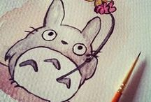 Totoro & Ghibli / My neighbour Totoro and other Ghibli friends!