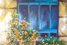 Art fine / LANDSCAPES PAINTINGS / by Ana Cecilia Chaverri Arce
