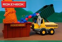 Toy Construction Vehicles / Our Rokenbok machines are heavy duty power houses! They're made to withstand rugged play. So get down and dirty and have fun! / by Rokenbok Toys