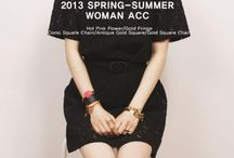 DIPLOMATIQUE 2013 S/S Accessory / 2013 Spring/Summer DIPLOMATIQUE 'New Women's Accessory'