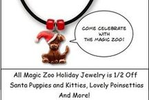 The Magic Zoo Jewelry - Sales and Special Offers / The Magic Zoo posts it's sales and specials here. Animal jewelry in Gold, Silver, Bronze, Enamel and Pewter for all pet and animal lovers. Unique gifts for yourself and those you love. / by The Magic Zoo