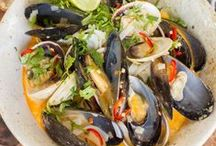 Mussels / The Coromandel in New Zealand is famous for its mussels. Here's some inspiration on how to prepare them, and where to buy them.