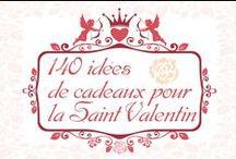 Idées Cadeaux / Retrouvez ici des listes d'idées cadeaux pour la Saint Valentin, pour Noël et pour d'autres fêtes. Cadeaux du commerce ou cadeaux en DIY. #idée #cadeau #fete #valentines #noel