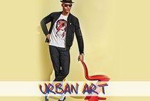URBAN ART by IZAC / « URBAN ART » plonge le dandy urbain dans une atmosphère de culture POP avec des looks colorés, chics et casual. Le vestiaire IZAC montrera que nous ne pouvons pas vivre sans couleur : l'audace mode se transforme en nécessité !