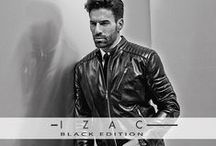 BLACK EDITION by IZAC / Black Edition illustre de nouveau la fusion incandescente de l'esprit Biker et de l'élégance Rock. Un vestiaire chic et «black» qui prendra une direction novatrice avec le renforcement de la mobilité urbaine qui nous conduit à recherche d'avantage de technicité et de confort dans nos vêtements.