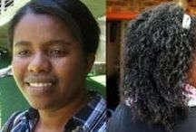 African hair / African hair styles, maintenance and products