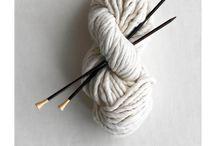 YARN ART / Crochet and knitting