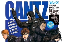 "Gantz / Gantz (ガンツ Gantsu) is a Japanese manga series written and illustrated by Hiroya Oku. Gantz tells the story of Kei Kurono and his friend Masaru Kato who die in a train accident and become part of a semi-posthumous ""game"" in which they and several other recently deceased people are forced to hunt down and kill aliens armed with a handful of futuristic items, equipment, and weaponry. Both the manga and anime are noted for their heavy violence and sexual content."