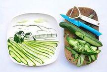 Cocina creativa para niños  / Disfruta de la cocina, con estos platos creativos :)