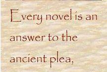 Book Club / Books I recommend.  Avid reader. English graduate.