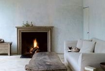 Home and Hearth / In colder months, nothing feels cozier than a roaring fire. We'd curl up by any of these chic mantles with a good book and some cocoa.