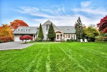 Countryside Charmers / One of Fairfield County's loveliest traits is the ability to at one moment be in nature's seclusion, then in a thriving cosmopolitan of shops and culture in the next. These country charmers offer nature's privacy, located a stone's throw from town center.